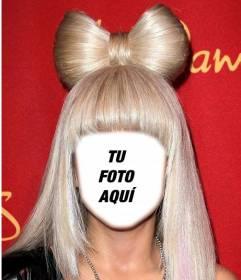 Fotomontajes con lady Gaga con tu foto