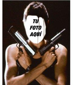 Pon tu cara en el personaje de Angelina Jolie como Lara Croft
