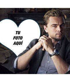 ¿Quieres poner tu foto junto a Leonardo di Caprio?