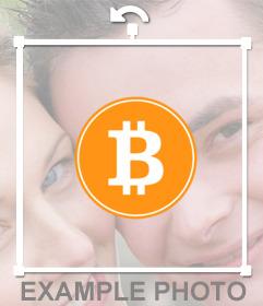 Poner el logo de bitcoin en mi foto