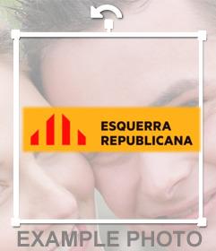 Logo de Esquerra Republicana de Catalunya para fotos