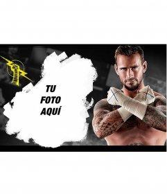 Collage para poner tu foto con CM Punk