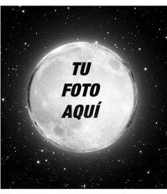 Pon tu imagen en la luna