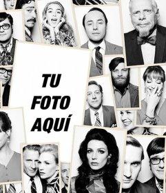 Collage de Mad Men para poner tu foto en el lugar de Donald Draper(Jon Hamm)