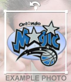 Pegatina del logo de los Orlando Magic