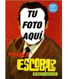 Aparece como Manolo Escobar en este fotomontaje para poner una cara