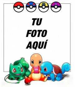 Marco para fotos de Pokémon