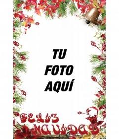 Montaje vertical para tus fotos de Navidad y gratis