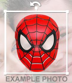 Ponte la máscara de Spiderman con este fotomontaje online