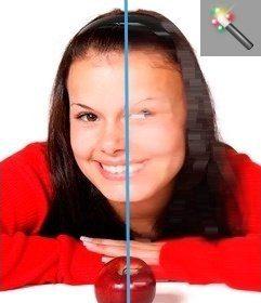 Filtro para fotos en el que se moverá la imagen y dará un efecto muy chulo