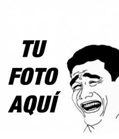 Meme de Yao Ming en el que poner tu foto online y sorprender a tus amigos