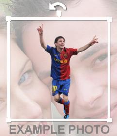 Pon a Messi en tus fotos con nuestro editor online