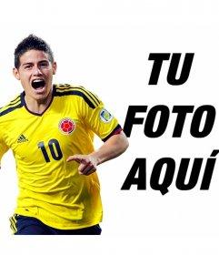 Fotomontajes con James Rodríguez de Colombia