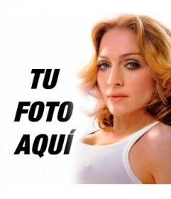Quieres poner una foto tuya al lado de Madonna, ahora puedes hacerlo con este fotomontaje