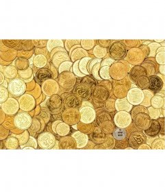 Juego para fotos para encontrar tu imagen en un montón de monedas