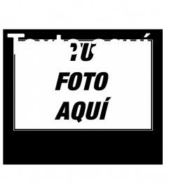 Creador online de marco para fotos para carteles motivación