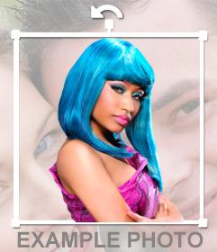 Pega a Nicki Minaj en tus fotos online