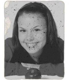 Efecto para fotos estilo fotografía antigua