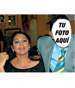 Convierte en el amante de Isabel Pantoja con este fotomontaje para editar