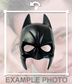 Máscara de batman online que podrás pegar en tus fotos