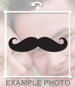 Adorna con un bigote a tus fotos e imágenes