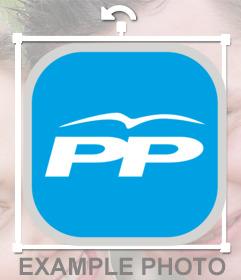 Logo del Partido Popular para poner en tu foto