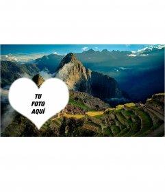 Postal del Machu Picchu