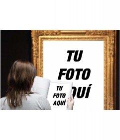 Foto efecto en el que aparecerás en un cuadro famoso de un museo