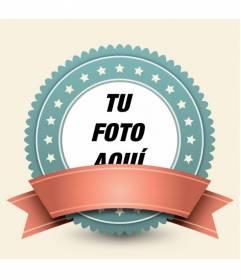 Marco para fotos para decorar tus fotografías con un estilo retro