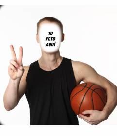 Conviértete en un entrenador de baloncesto con este divertido montaje