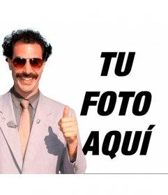 Fotomontaje para poner a Borat en tus fotos