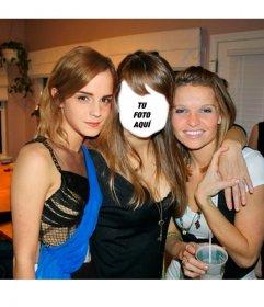 Crea un fotomontaje con Emma Watson