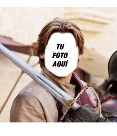 Crea este fotomontaje poniendo tu cara en la de Jaime Lannister