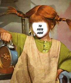 Ya puedes convertirte en Pippi Langstrump con este montaje divertido y editable
