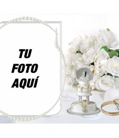 Plantilla de fotos como regalo de boda original