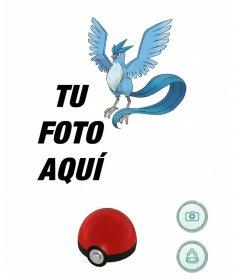 Atrapa a Articuno con este efecto de Pokemon Go para editar