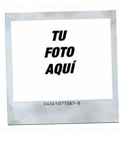 Marco para fotos estilo Polaroid