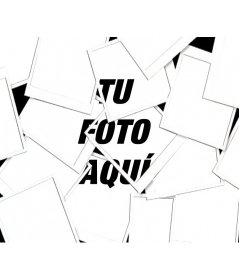 Con este fotoefecto, tu imagen aparecerá como una composición tipo Collage hecha con múltiples fotografías tipo Polaroid