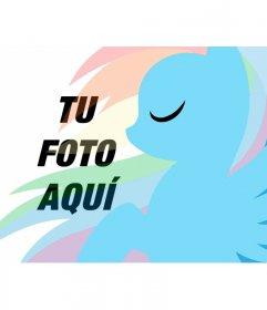 Fotomontaje infantil para poner tu foto con Pony Dash
