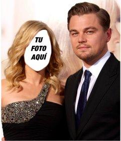 Fotomontaje para posar junto a Leonardo DiCaprio con tu cara
