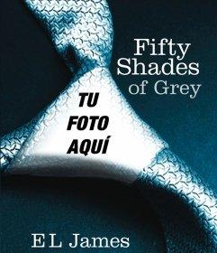 Tu foto en la portada de 50 sombras de Grey