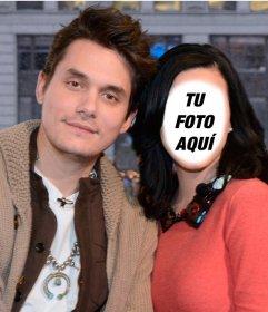 Foto montaje online para poner tu cara como si fueses Katy Perry