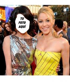 Fotomontaje online donde podrás verte junto a Shakira