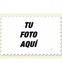 Hacer un sello de una foto, fotomontaje online