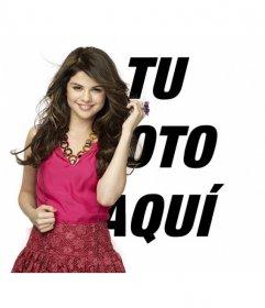 Poner tu foto junto con Selena Gomez
