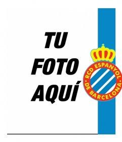 Pon el escudo y los colores del Español junto tu foto!