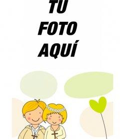 Recuerdo de Primera Comunión personalizable con una foto en formato marcapáginas para niño o niña