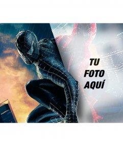 Fotomontaje para poner tu foto en el reflejo de Spiderman