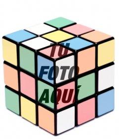 Efecto para fotos cubo de rubik para poner tu foto dentro de un cubo de rubik