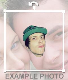 Fotomontaje del famoso Youtuber el Rubius OMG para ponerlo en tus fotos como un meme